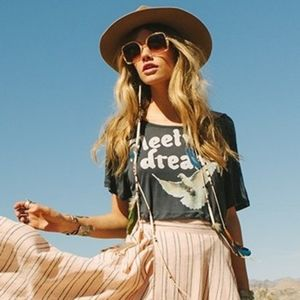 Rare spell designs Fleetwood Dreamin cropped tee S